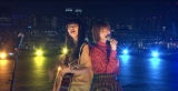 11月1日深夜放送『ウケメン』に出演する(左から)市川美織、まいみょん (C)フジテレビ
