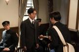 連続テレビ小説『エール』第3週「いばらの道」第11回より。ハーモニカ倶楽部の会長・館林(川口覚)から定期演奏会で演奏するオリジナル曲を作曲しないか、と誘われる(C)NHK