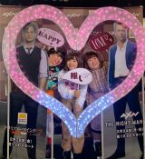 『J:COM×AXN×スーパー!ドラマTV共同企画「バレンタイン特集 イケメン祭り」トークショー』に参加した3時のヒロイン(左から)ゆめっち、福田麻貴、かなで