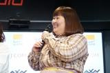 『J:COM×AXN×スーパー!ドラマTV共同企画「バレンタイン特集 イケメン祭り」トークショー』に参加した3時のヒロイン・かなで