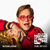 『One World:Together at Home』に参加するエルトン・ジョン