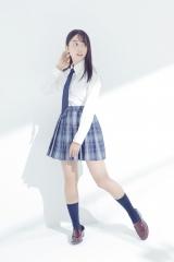 『マイナビ進学マガジン』の表紙を飾る黒木ひかり (C)GENKI(IIZUMI OFFICE)