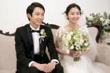 結婚情報誌『ゼクシィ』の新CMに出演する(左から)鈴木仁、堀田真由