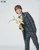 『MORE』6・7合併号に登場するKing & Prince・高橋海人(撮影/池溝広大)