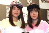 (左から)広瀬アリス、広瀬すず (C)ORICON NewS inc.