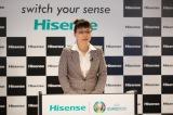 『ハイセンスジャパン新ビジョン・新商品発表会』に出席した李文麗氏