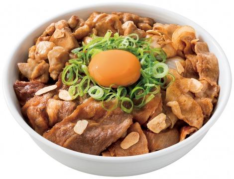 吉野家の新商品『スタミナ超特盛丼』