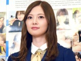 乃木坂46卒業コンサートに言及した白石麻衣 (C)ORICON NewS inc.