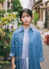 『BUBKA』6月号特別付録の超BIGポスターに登場した乃木坂46・筒井あやめ