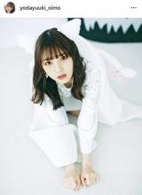 猫耳姿の与田祐希(写真はインスタグラムより)