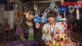 「上坂すみれのヤバい〇〇TVスペシャル」の場面カット(左から)上坂すみれ、水瀬いのり