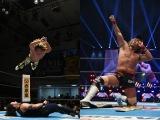 (左から)棚橋弘至、内藤哲也(C)新日本プロレス
