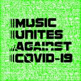 『MUSIC UNITES AGAINST COVID-19』ロゴ