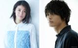 映画『裏アカ』に主演する瀧内公美と相手役の神尾楓珠(右)