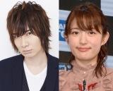 結婚を発表した(左から)前野智昭、小松未可子