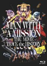 Blu-ray『MAN WITH A MISSION THE MOVIE -TRACE the HISTORY-』仮ジャケット(C)2020