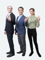 ラジオ第2(R2)で放送中『基礎英語3』出演者(C)NHK