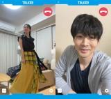 連続テレビ小説『スカーレット』で共演した桜庭ななみと松下洸平がリモートドラマに挑戦(C)NHK