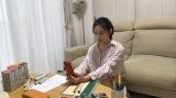 最近人と話していないくみ子(桜庭ななみ)=リモートドラマ『ホーム・ノット・アローン』総合テレビ(関西地域向け)で5月18日スタート、1話2分、全5話(C)NHK