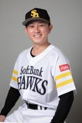 川島慶三選手 (C)SoftBank HAWKS