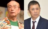 (左から)志村けんさん、岡村隆史 (C)ORICON NewS inc.