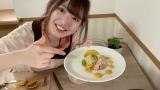 「カボチャカルボナーラ」を作った馬嘉伶(C)AKB48