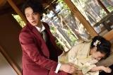 『美食探偵 明智五郎』(毎週日曜 後10:30)第6話に出演する中村倫也、北原里英(C)日本テレビ