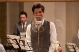 「丘を越えて」をレコーディングしていた山藤太郎(柿澤勇人)(C)NHK