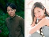 NHKのリモートドラマ『Living』第1話〜第4話まで全話に出演する阿部サダヲ、壇蜜
