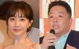 (左から)田中みな実、伊集院光 (C)ORICON NewS inc.