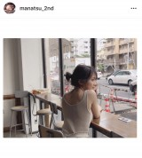 秋元真夏2nd写真集『しあわせにしたい』試し撮りショット(写真はインスタグラムより)