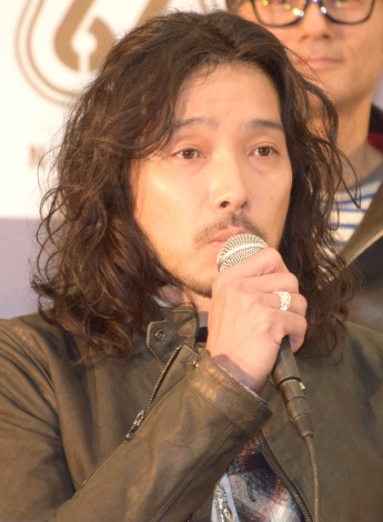 『ROOTS66−Naughty 50−』の開催記者会見に出席した斉藤和義 (C)ORICON NewS inc.