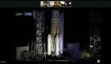 ロケット打ち上げを見届けるライブ配信の模様 (C)KIBO宇宙放送局 (C)Bascule