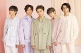 6月10日のデビュー8周年記念日にスタジオライブを実施する超特急(左から)カイ、リョウガ、タクヤ、ユーキ、タカシ