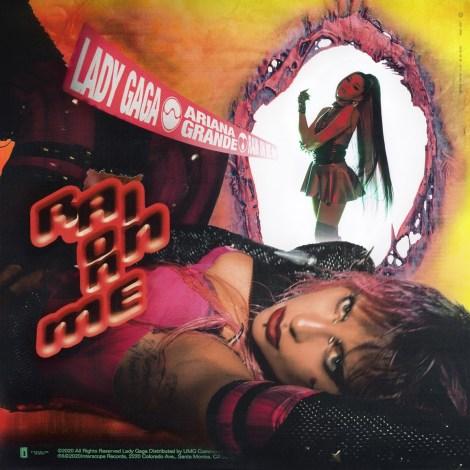 レディー・ガガ「Rain On Me with Ariana Grande」ジャケット写真