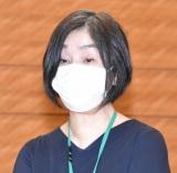 3者連合文化芸術復興基金創設に関する記者会見に出席した詩森ろば (C)ORICON NewS inc.