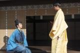 大河ドラマ『麒麟がくる』第19回「信長を暗殺せよ」より。信長(染谷将太)とも久しぶりに再会した光秀(長谷川博己)(C)NHK
