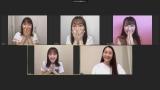 コスメブランド「SOPHISTANCE」のYouTubeチャンネルの生配信で第1子妊娠を発表した早見あかり(右下)