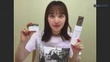 百田夏菜子=コスメブランド「SOPHISTANCE」のYouTubeチャンネルの生配信