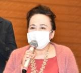 3者連合文化芸術復興基金創設に関する記者会見に出席した渡辺えり (C)ORICON NewS inc.