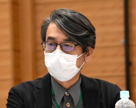 3者連合文化芸術復興基金創設に関する記者会見に出席した諏訪敦彦 (C)ORICON NewS inc.