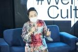 『#WeNeedCulture at DOMMUNE〜文化芸術復興基金をつくろう〜』に出席した渡辺えり(C)撮影:鳥居洋介
