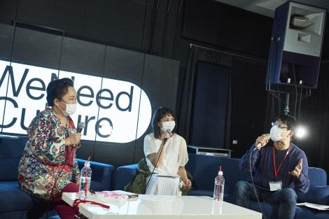 『#WeNeedCulture at DOMMUNE〜文化芸術復興基金をつくろう〜』の模様(C)撮影:鳥居洋介