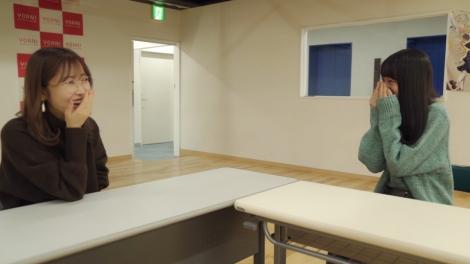 ティザー映像より(左から)プロデューサーの指原莉乃、≠ME・冨田菜々風