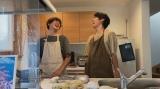 リモートドラマ『Living』第2話(5月30日放送)に出演する永山瑛太、永山絢斗(C)NHK