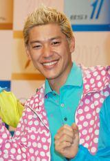 NHK BS1の情報番組『ラン×スマ〜街の風になれ〜』に出演するロンドンブーツ1号2号・田村亮 (C)ORICON DD inc.