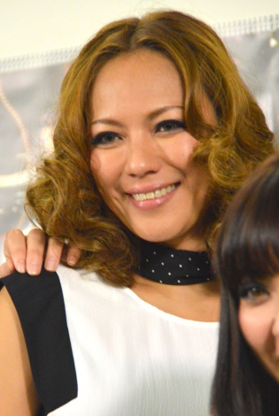 MAX 20th LIVE CONTACT 2015 BACK TO THE MAX FUTUREに出演したLINA (C)ORICON NewS inc.