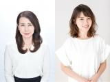(左から)堀井美香アナ、皆川玲奈アナ