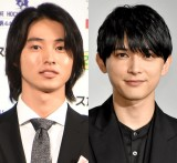 (左から)山崎賢人、吉沢亮 (C)ORICON NewS inc.
