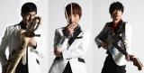特別企画『テレFES.2020』オーガナイザーの東京スカパラダイスオーケストラ(左から)谷中敦、加藤隆志、茂木欣一